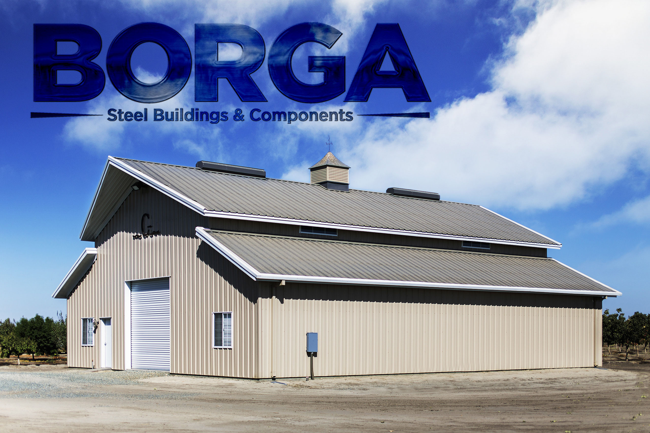 Borga Steel Buildings Components Fresno Fowler CA Metal Construction Fabrication Manufacturing Engineering
