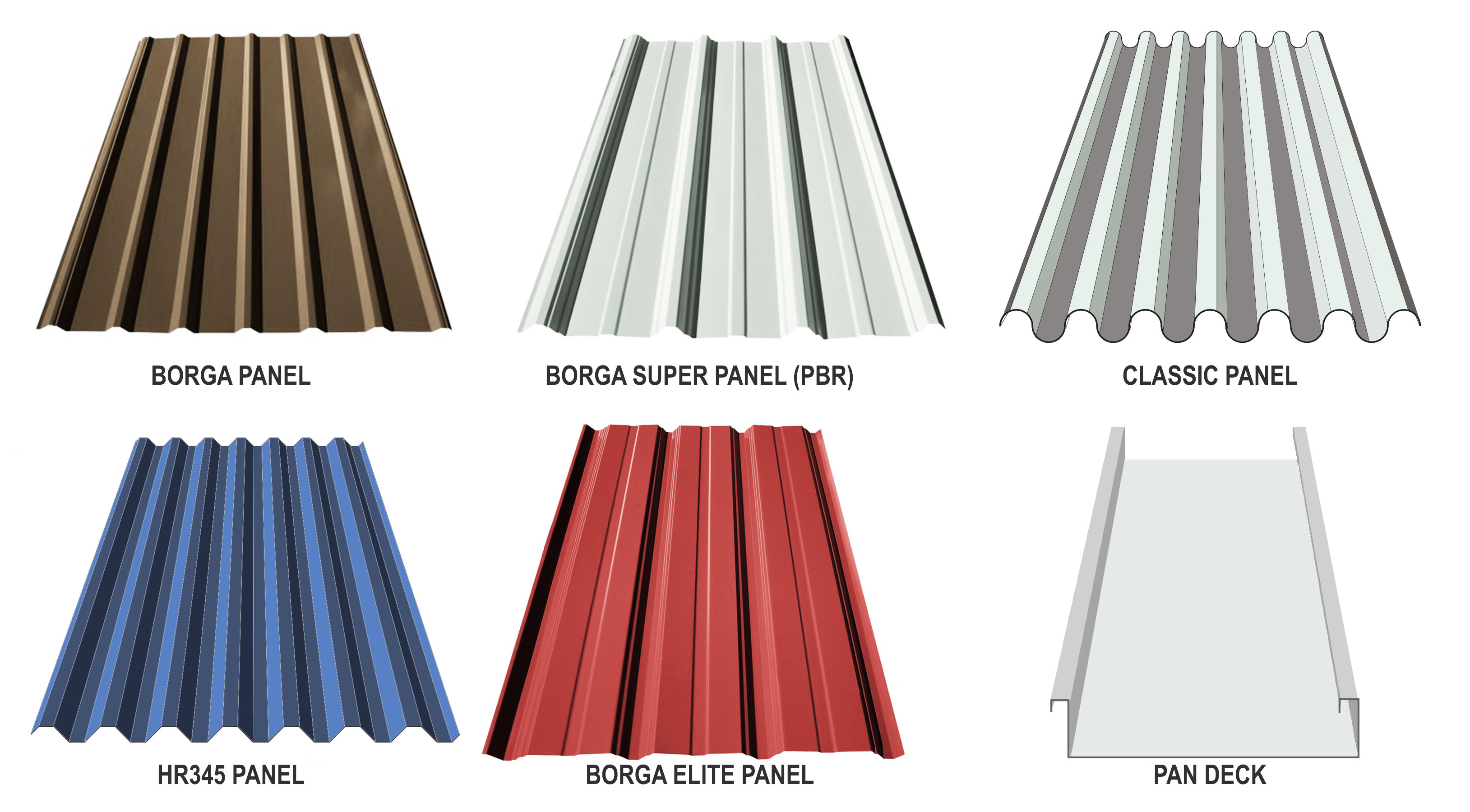 BORGA STEEL BUILDINGS COMPONENTS METAL Exposed fastener panels PBR FRESNO CALIFORNIA FOWLER