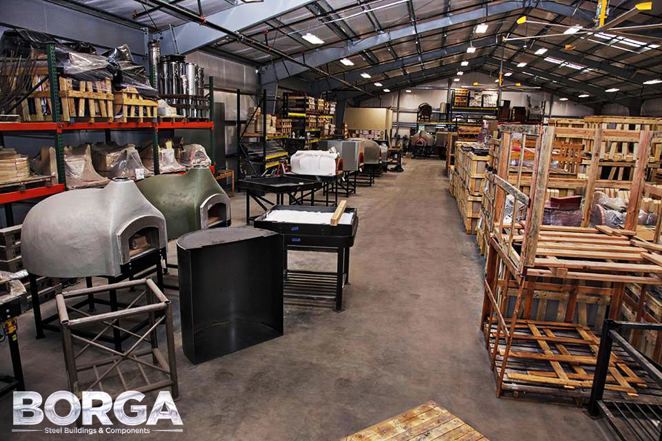 borga steel buildings components roofing metal fresno ca fowler mugnaini wood fired ovens 6