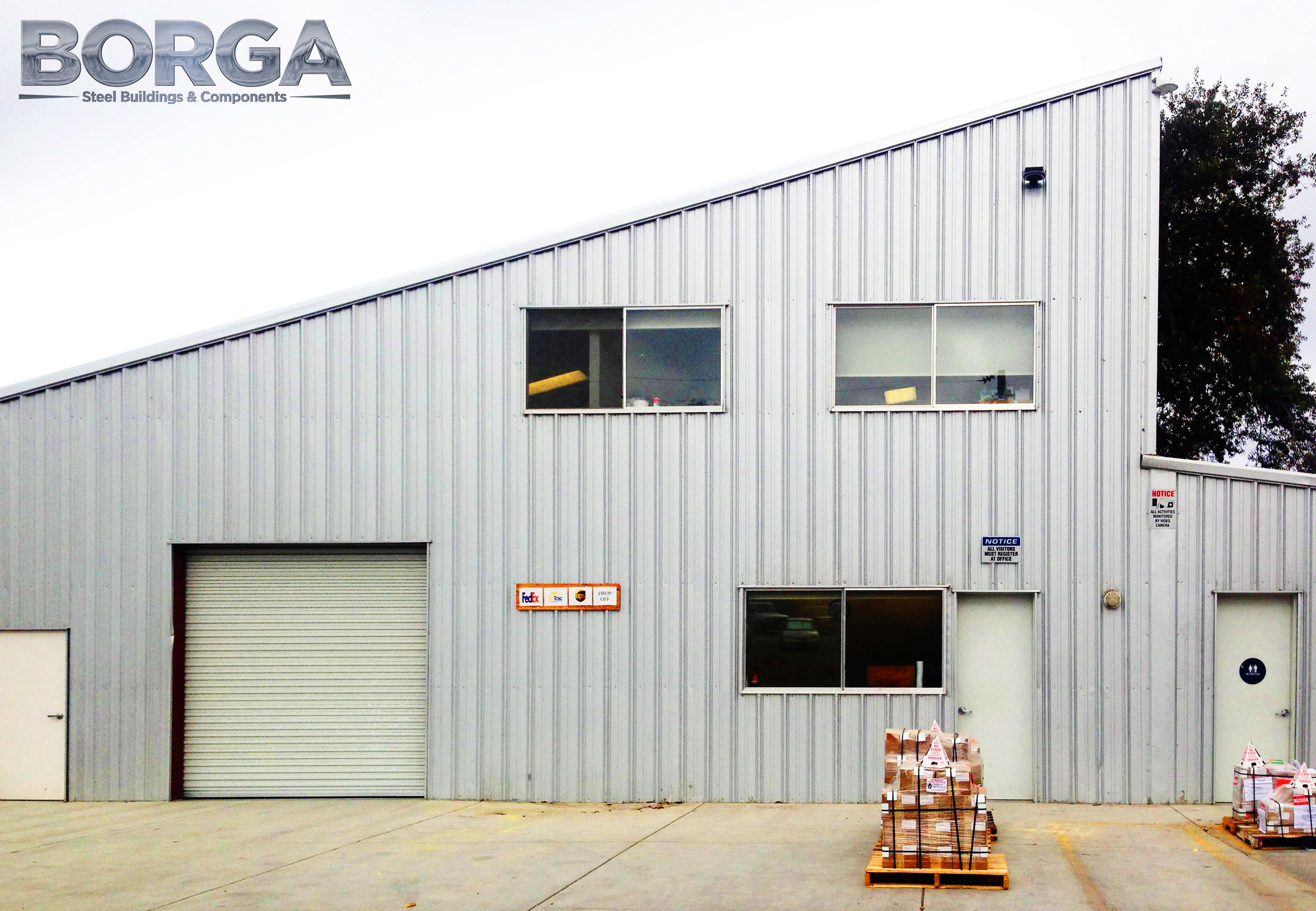 borga steel buildings and components fresno ca sheeting metal fireclay tile aromas ca 3