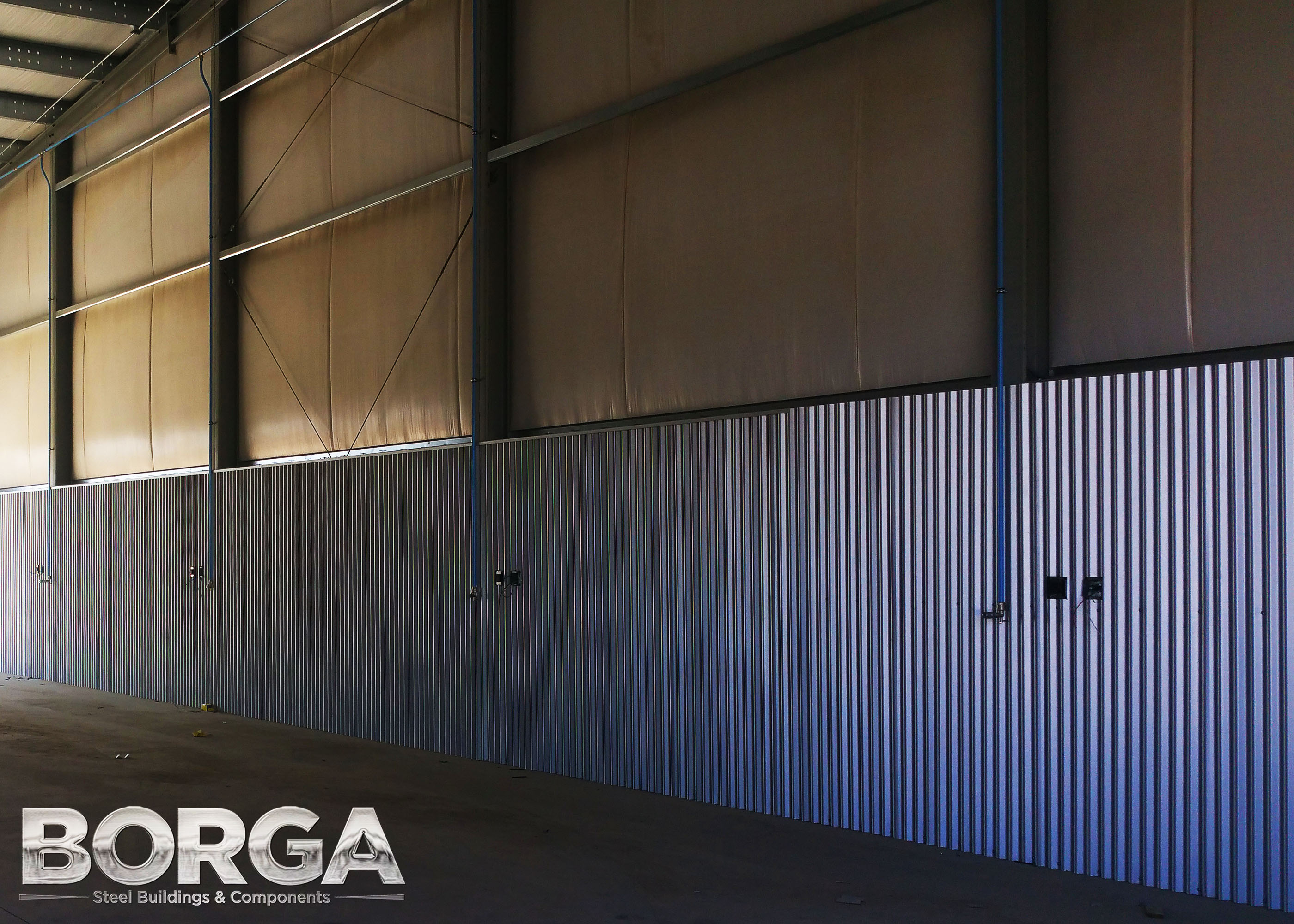 borga steel buildings roofing metal fresno ca corcoran ag farming tan brown agriculture 4