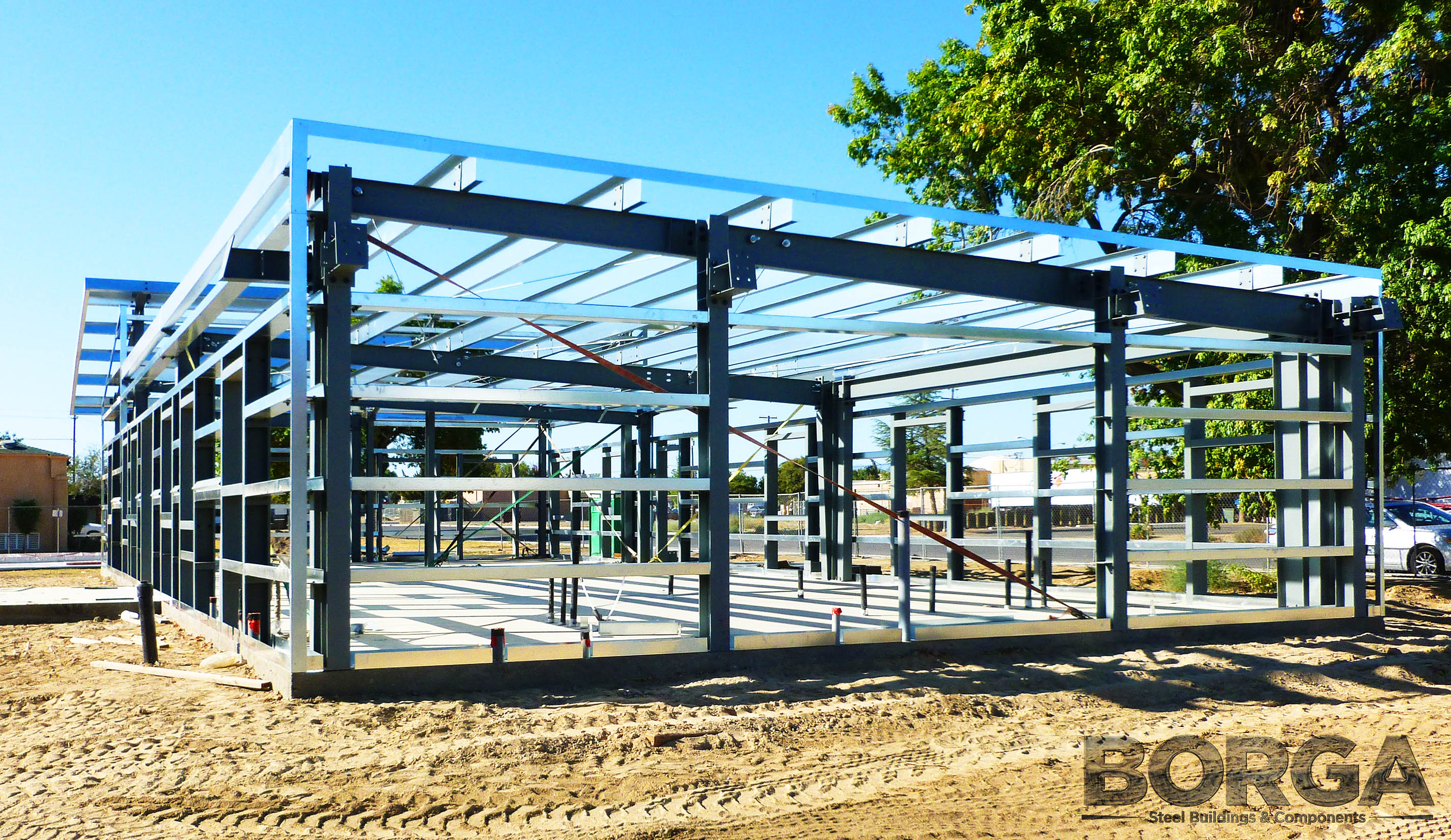 Borga Steel Buildings Components Metal Framing Huron Boys & Girls Club 7
