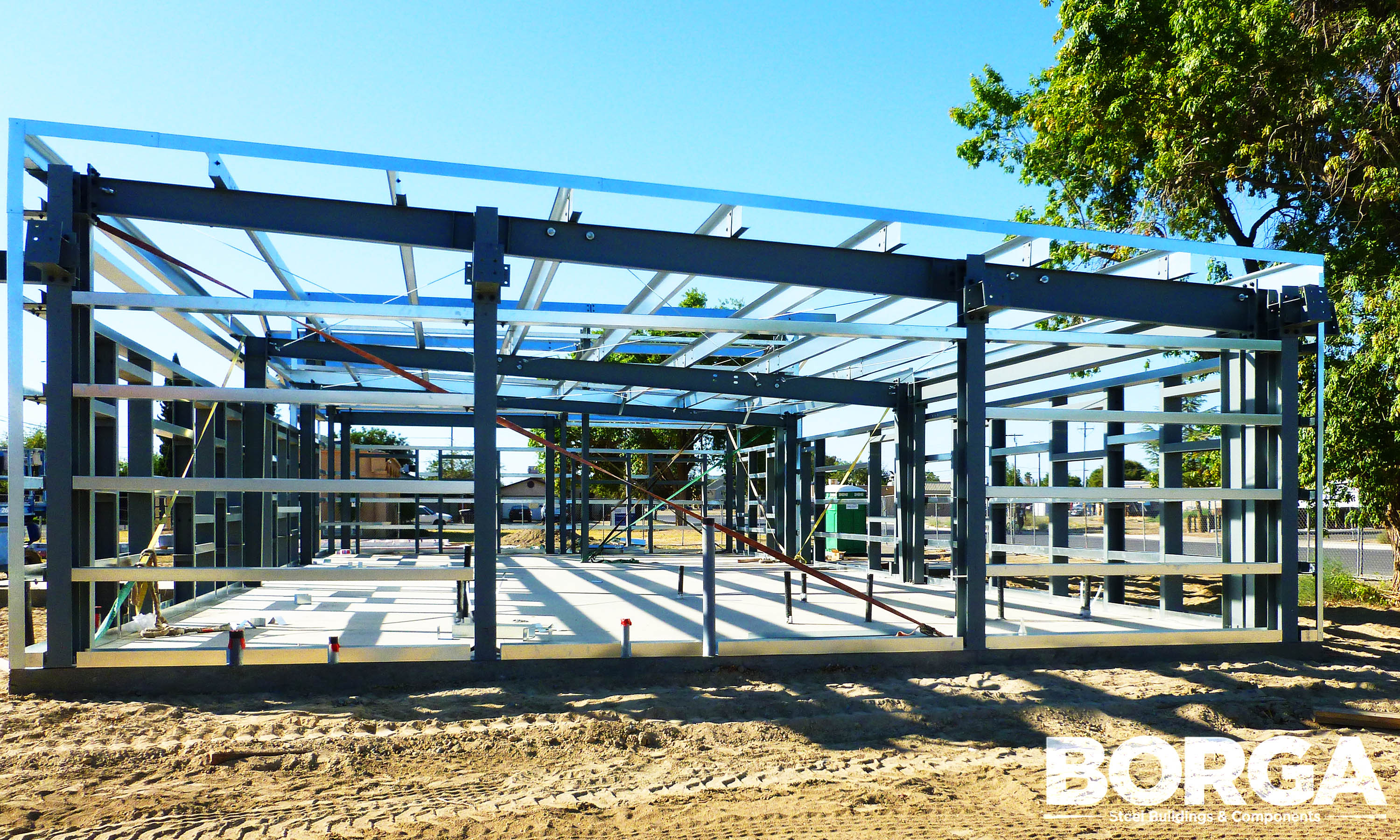 Borga Steel Buildings Components Metal Framing Huron Boys & Girls Club 6