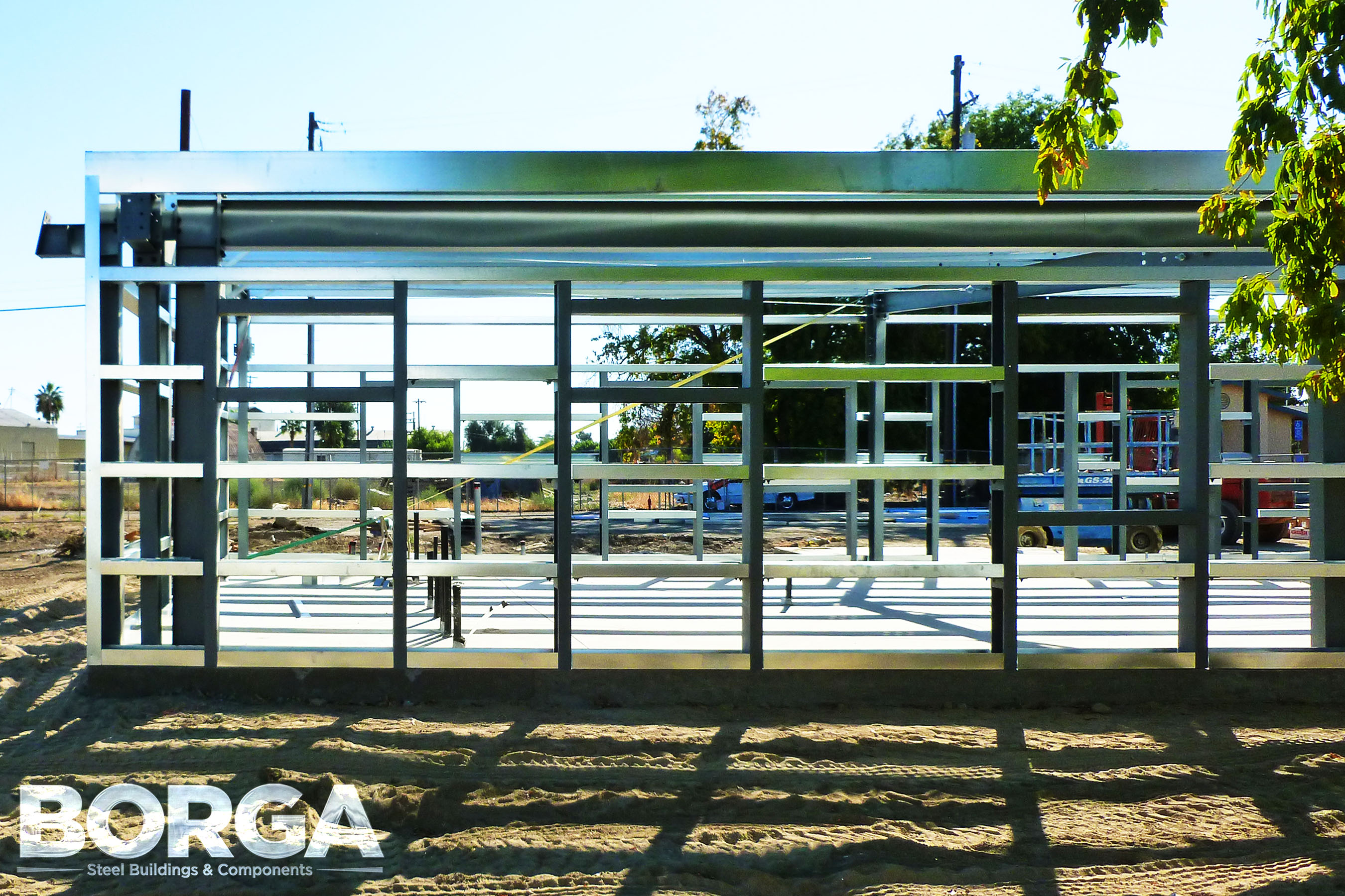 Borga Steel Buildings Components Metal Framing Huron Boys & Girls Club 4