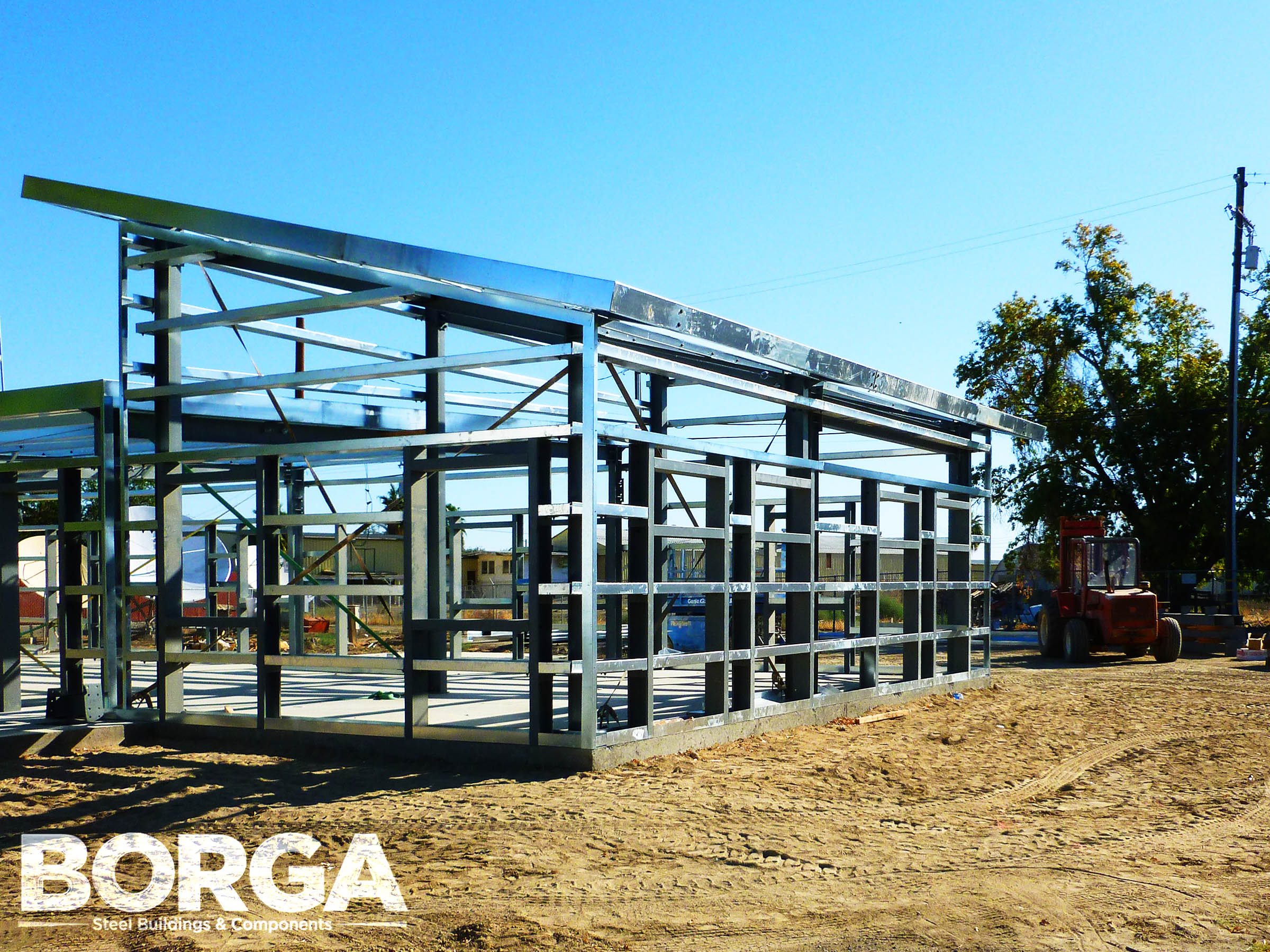 Borga Steel Buildings Components Metal Framing Huron Boys & Girls Club 3