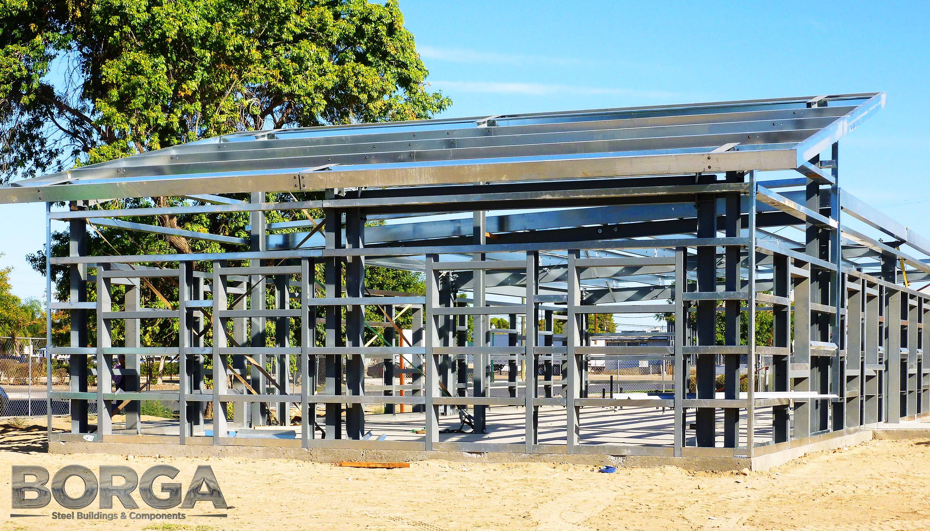 Borga Steel Buildings Components Metal Framing Huron Boys & Girls Club 2