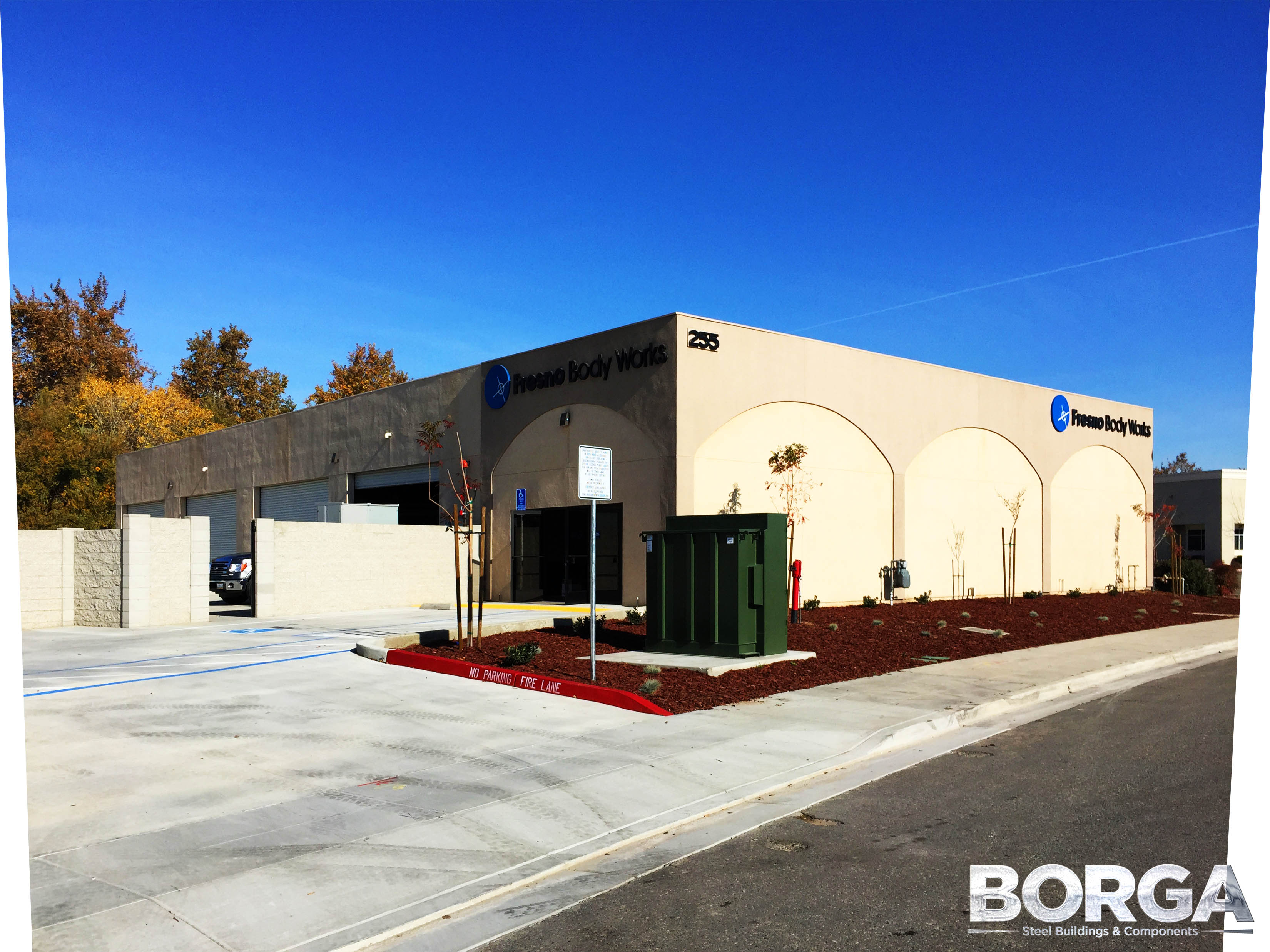 borga steel buildings components fresno bodyworks ca