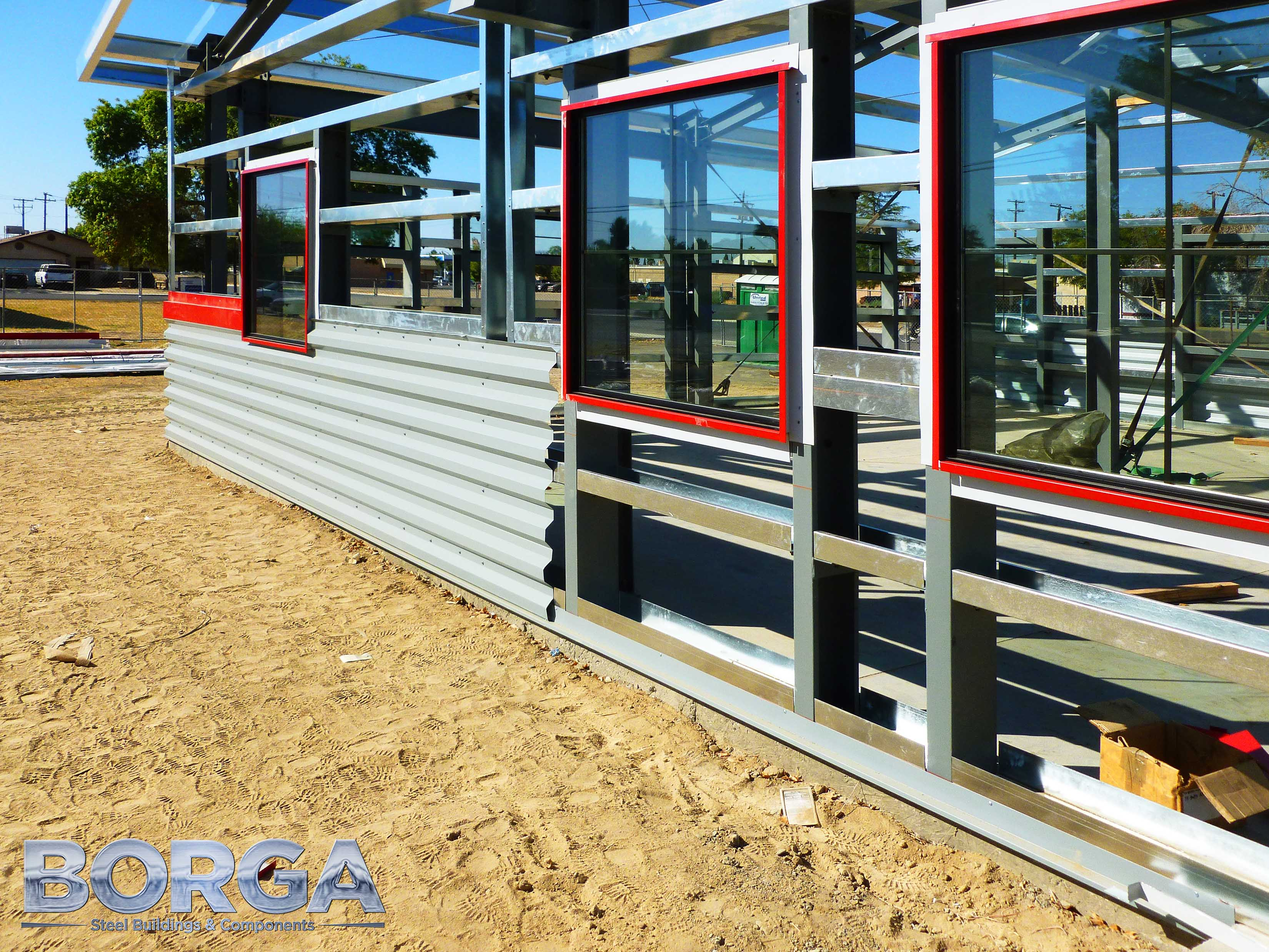 borga steel buildings components boys and girls club of fresno county huron