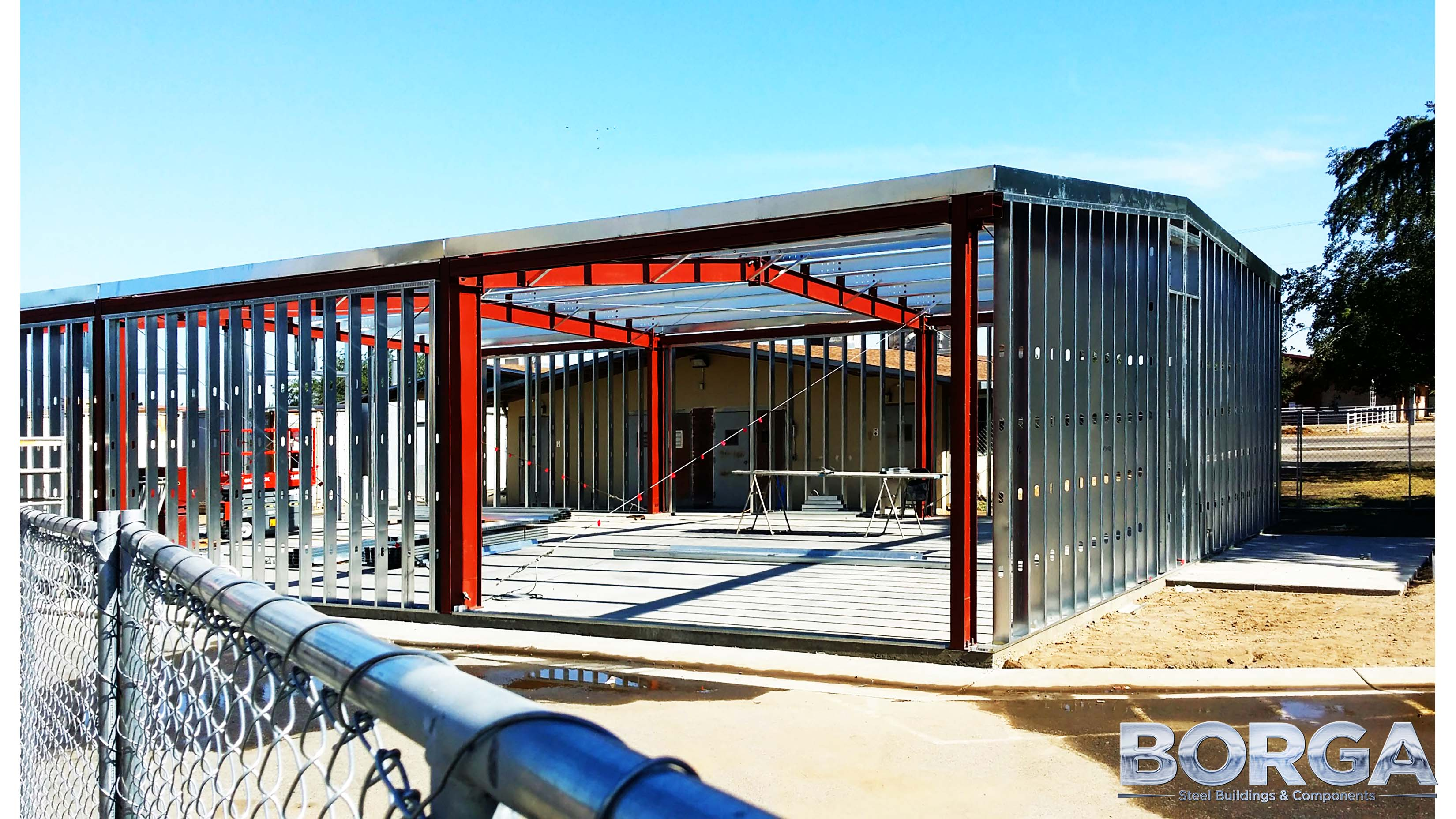borga steel buildings and components fresno state university agriculture metal construction