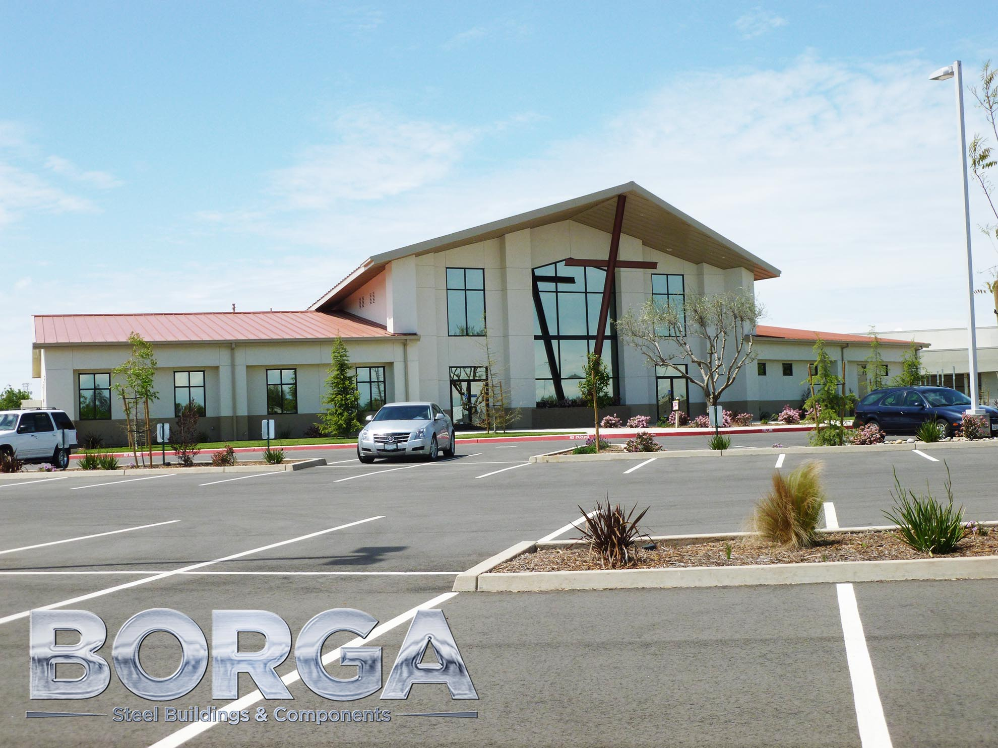 borga steel buildings components fresno california ca lifeway baptist church